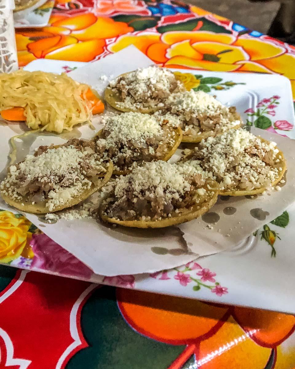 garnachas must eats in oaxaca