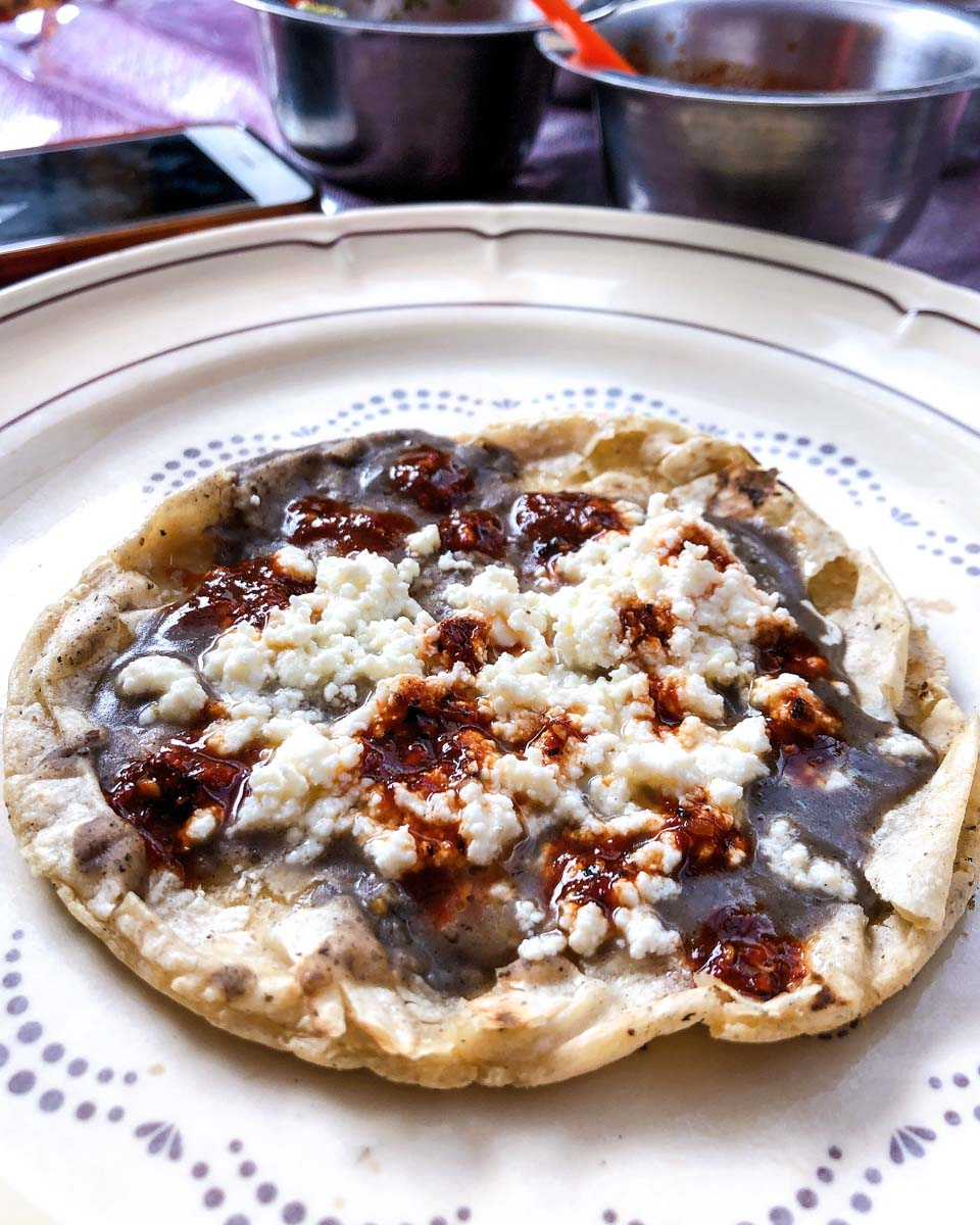 must eats in oaxaca memelas at la merced