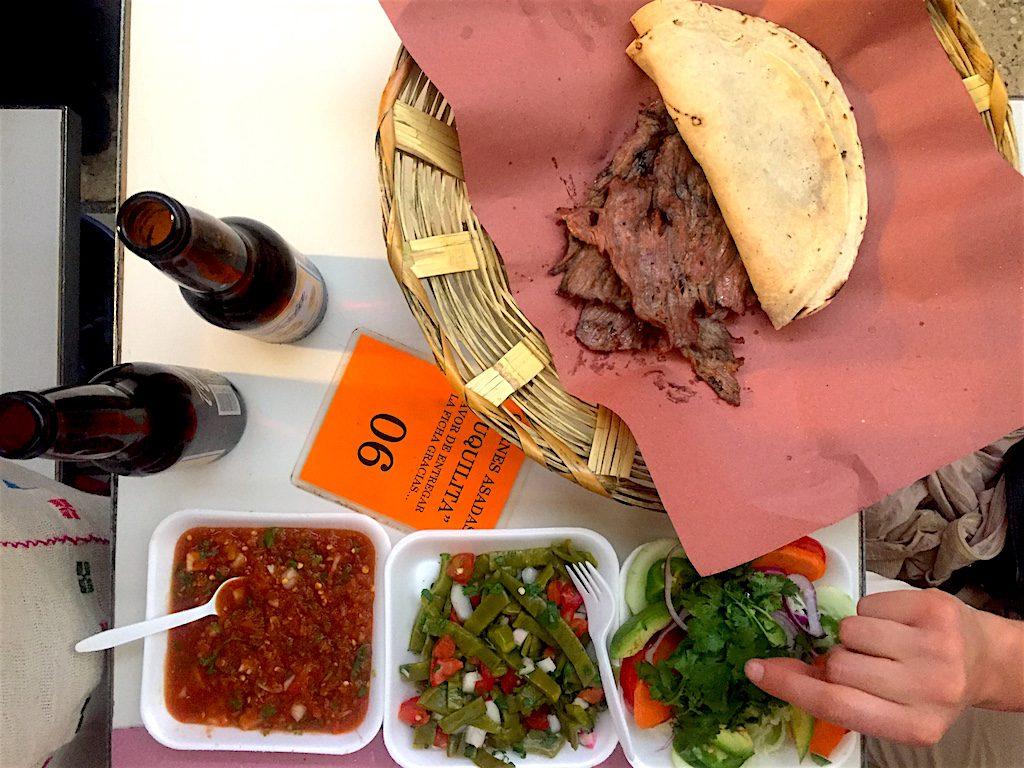 oaxaca must eats carne asada hall mercado 20 de noviembre