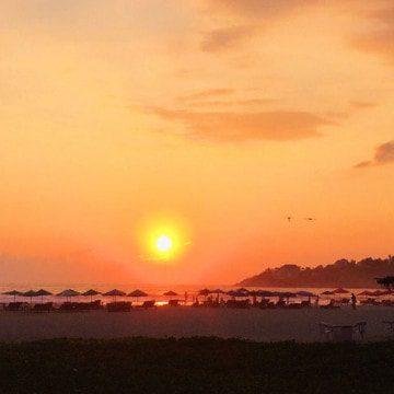 sunset puerto escondido