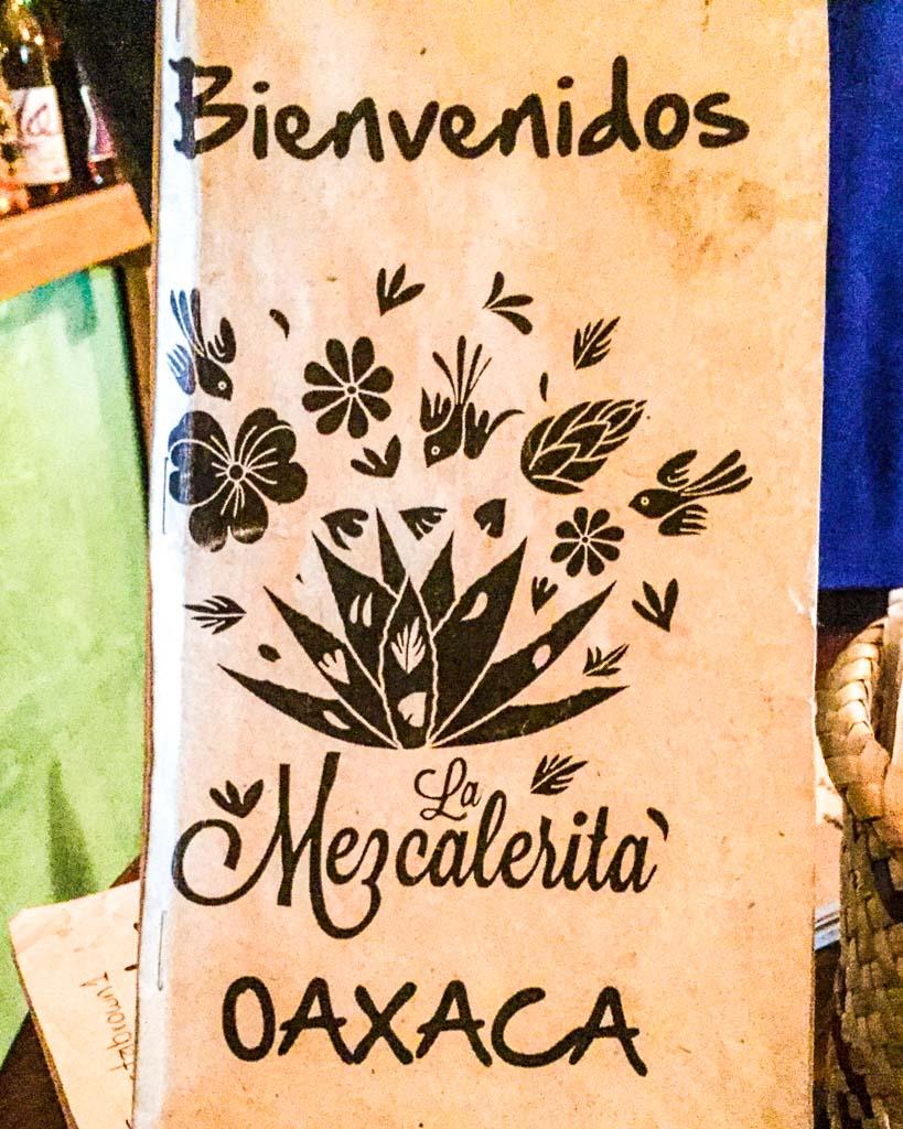 what to eat in oaxaca mezcalerita