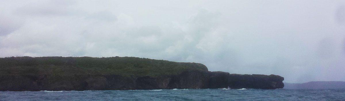 Las Galeras coastline.