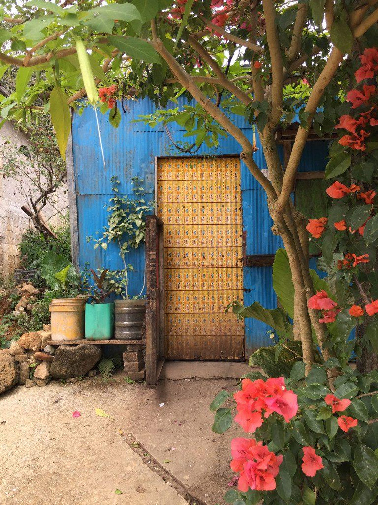Pluma Hidalgo Doorway