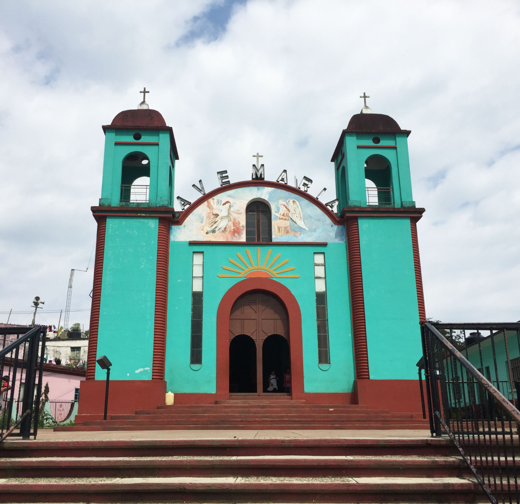 Pluma Hidalgo Church