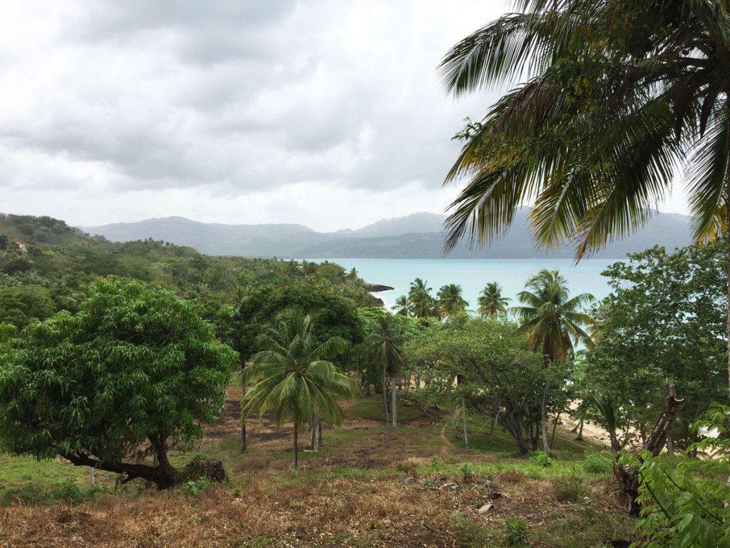 Samana Peninsula, Dominican Republic coastline