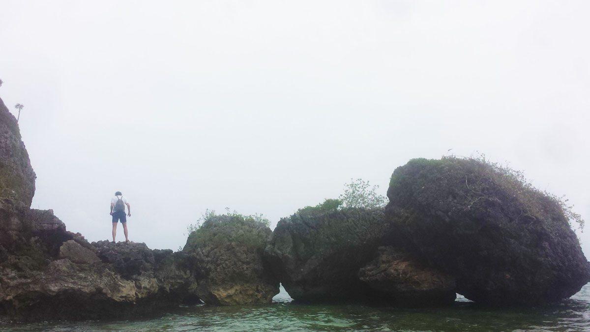 Playa Fronton exploring.