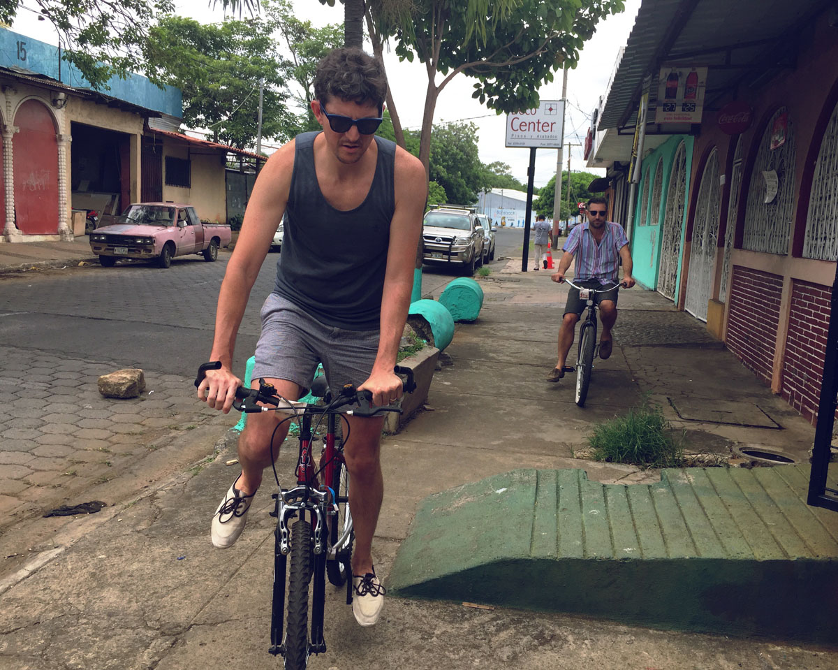 Managua used bikes.