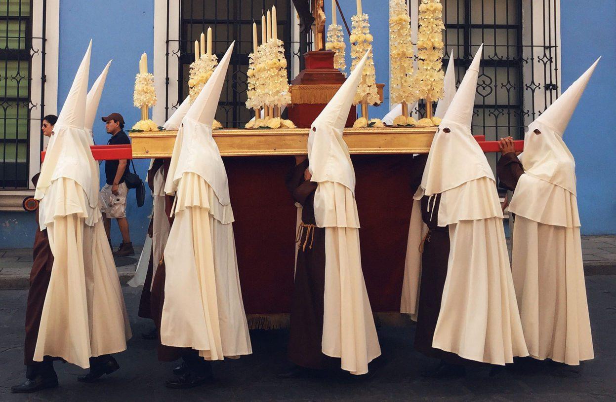 Semana Santa Procession, Oaxaca, Mexico