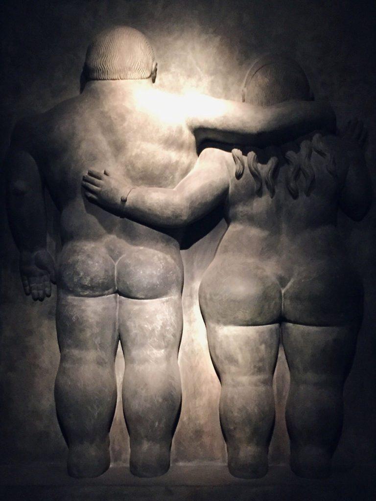 Botero sculpture Bogota
