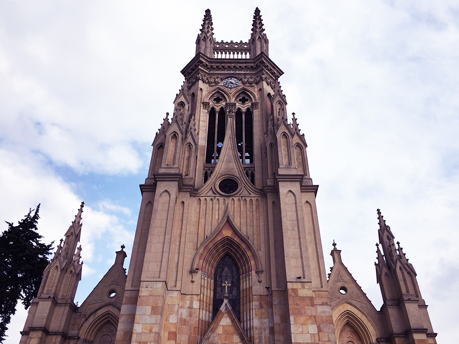Church in Bogota Colombia