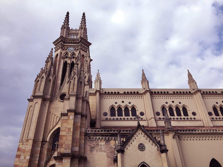 Church in La Candelaria Bogota