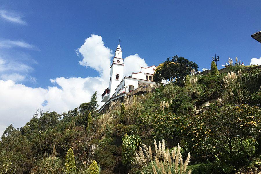 Monserrate church Bogota Colombia
