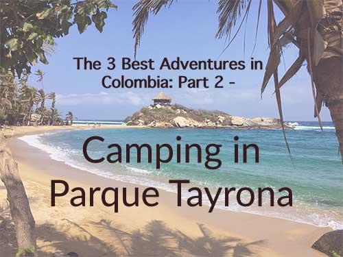 Camping in Parque Tayrona Thumbnail