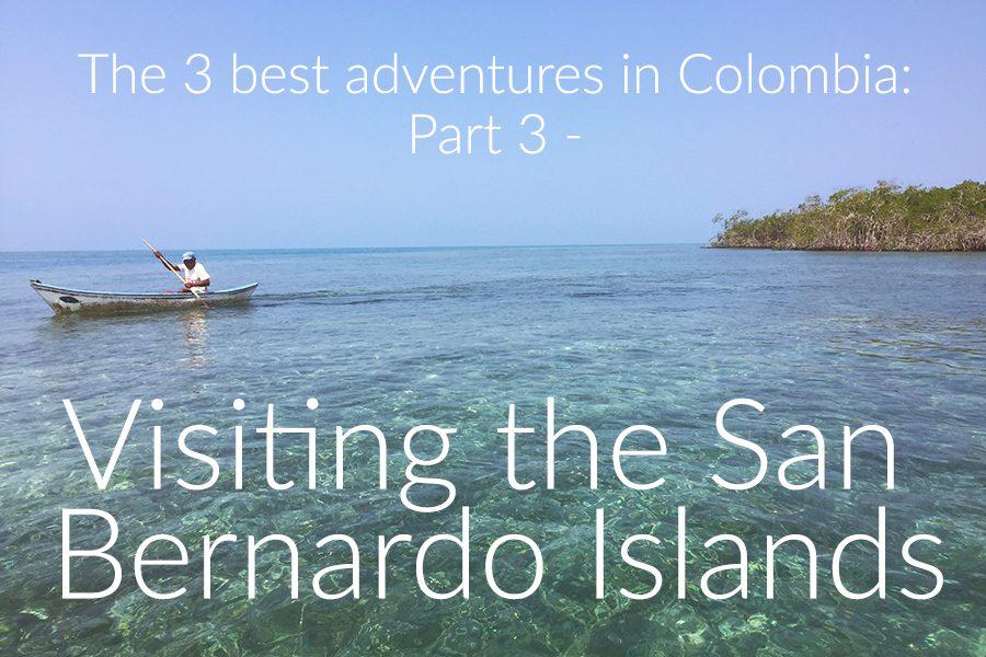 Visiting the San Bernardo Islands, colombia