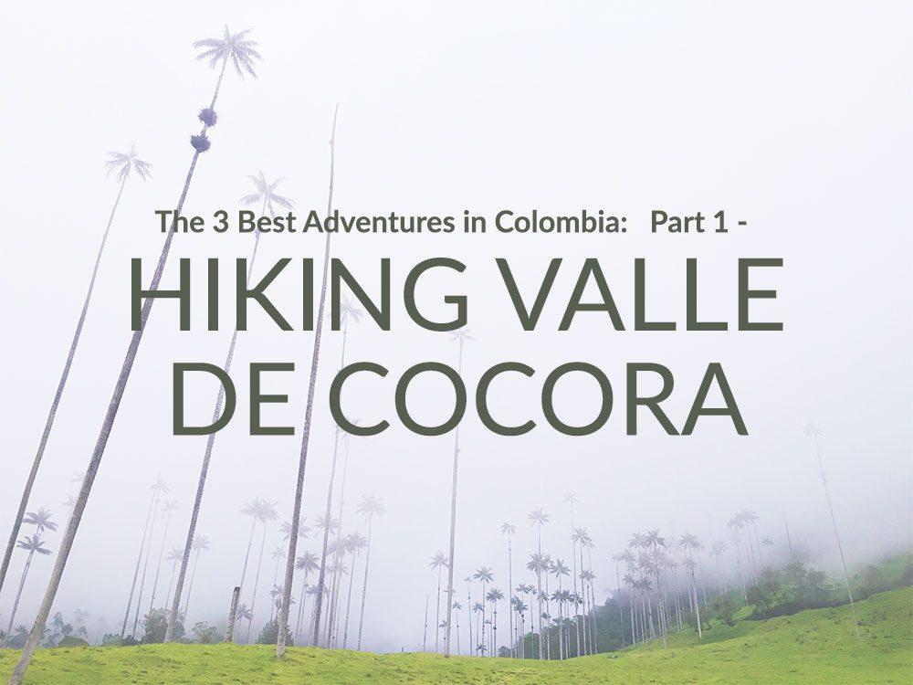 Hiking Valle de Cocora thumbnail