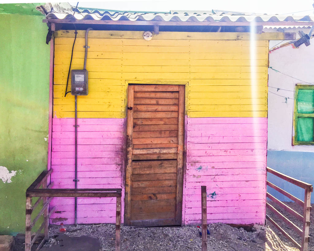 Door in Santa Cruz, San Bernardo Islands, Colombia