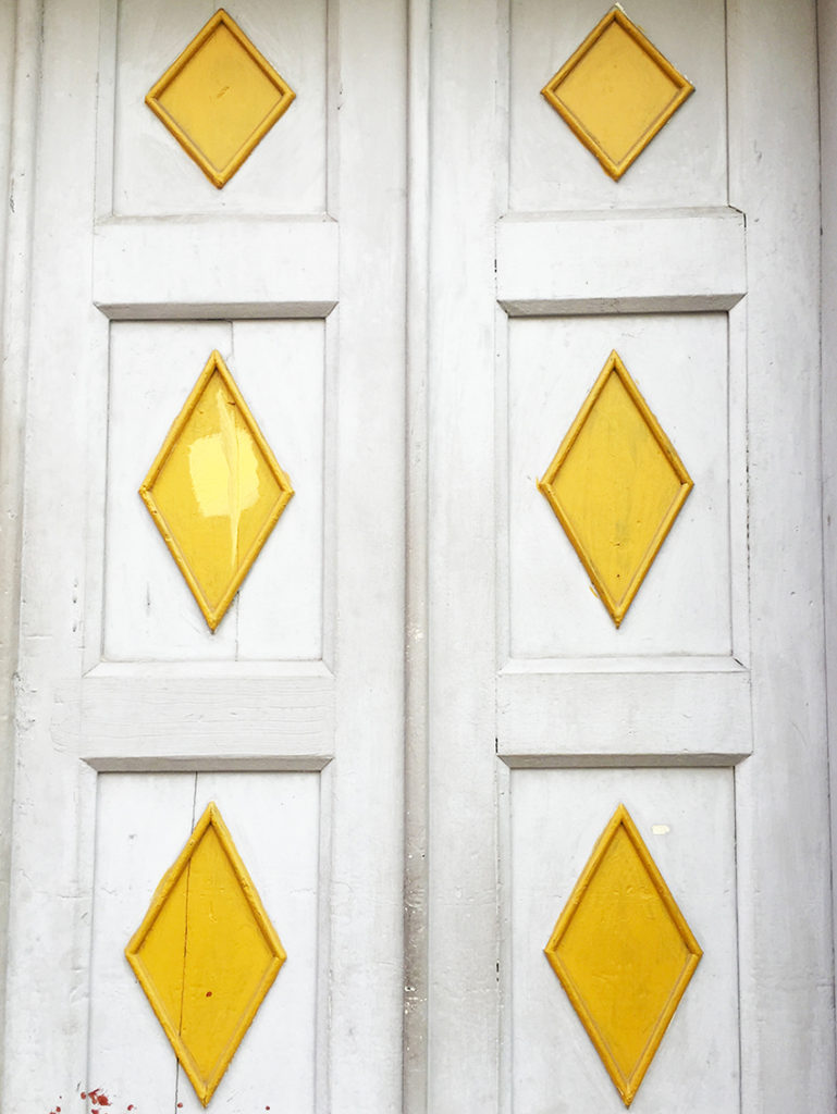 Door in La Candelaria Bogota