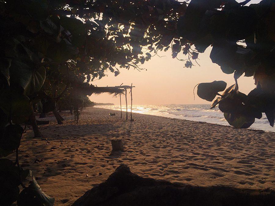 beach in Rincon del Mar, Colombia