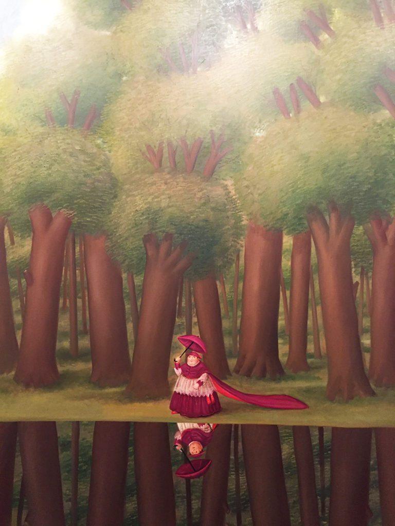 Botero painting Museo Botero Bogota