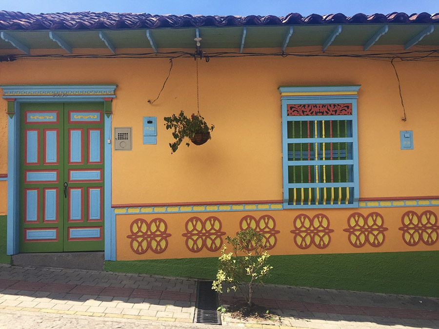 home in Guatape Colombia