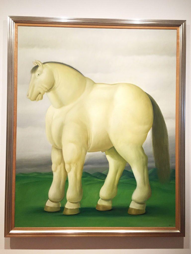 horse painting botero museum bogota