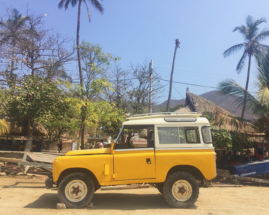 Jeep in Taganga, Colombia