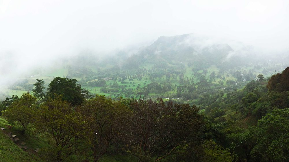 View from the Mirador in Salento, Colombia