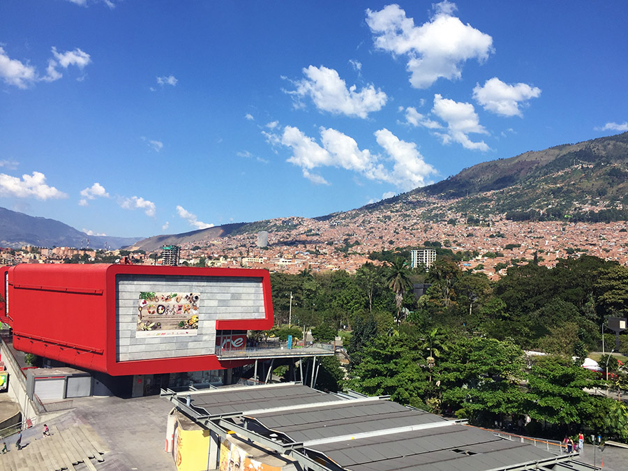 Medellin city view