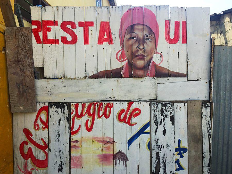 sign in Rincon del Mar, Colombia
