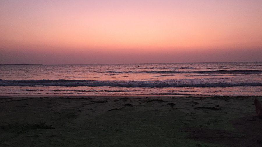 sunset in Rincon del Mar, Colombia