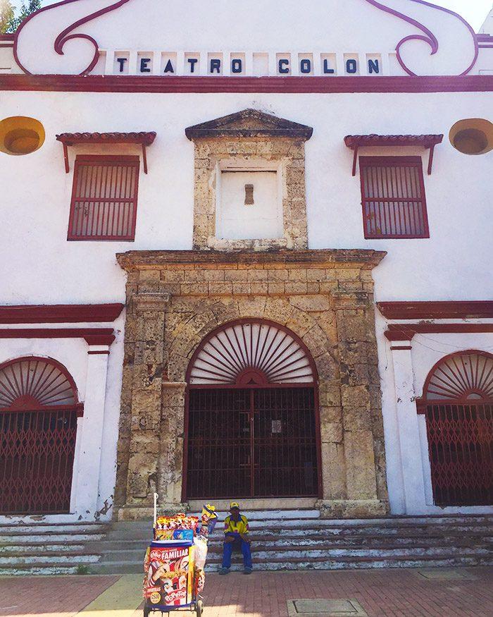 Teatro Colon Cartagena Colombia