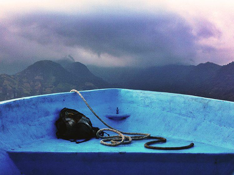 boat lake atitlan guatemala