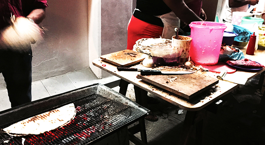Street food in puerto escondido oaxaca