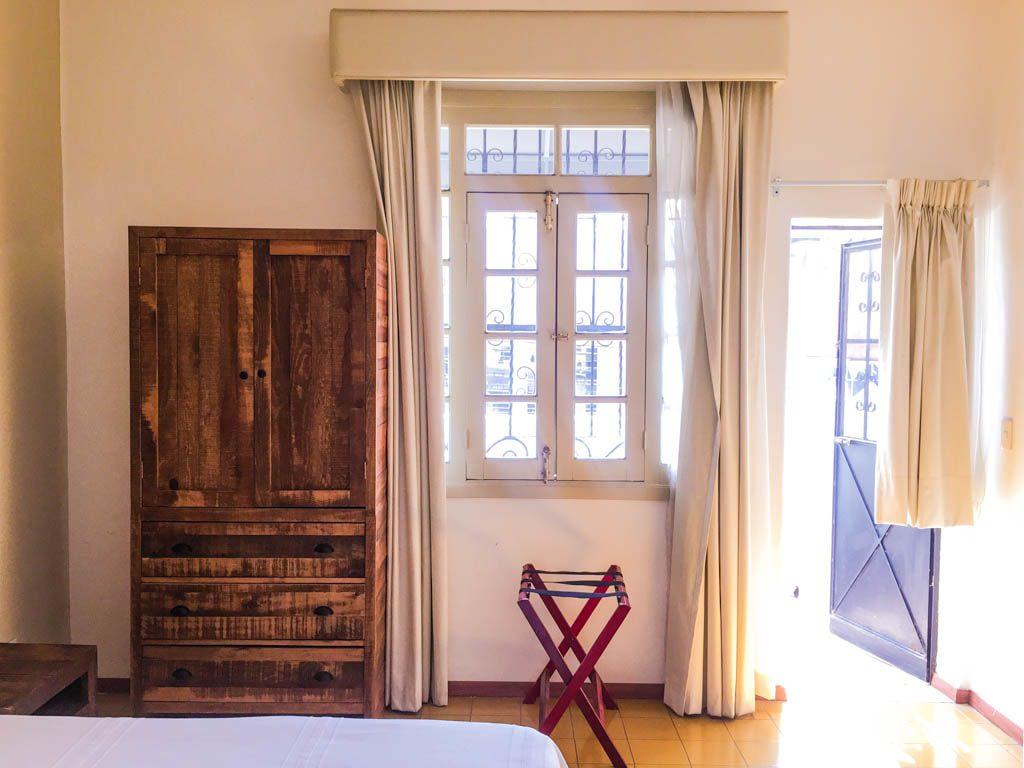 bedroom la fe hotel guadalajara