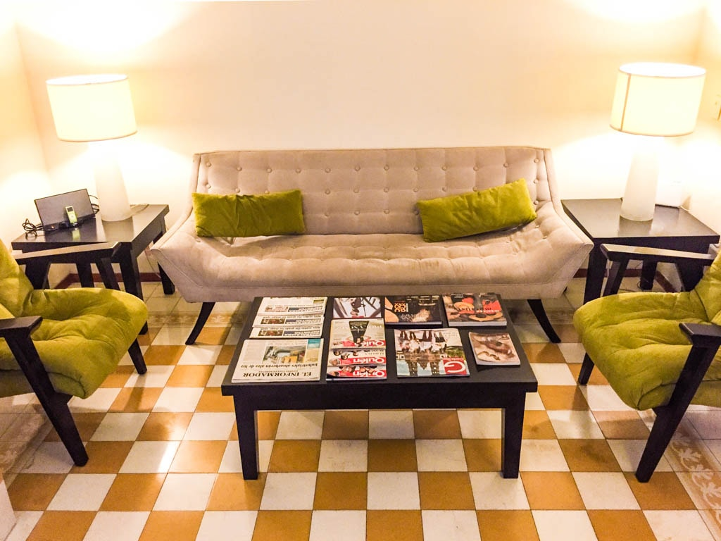 living room la fe hotel