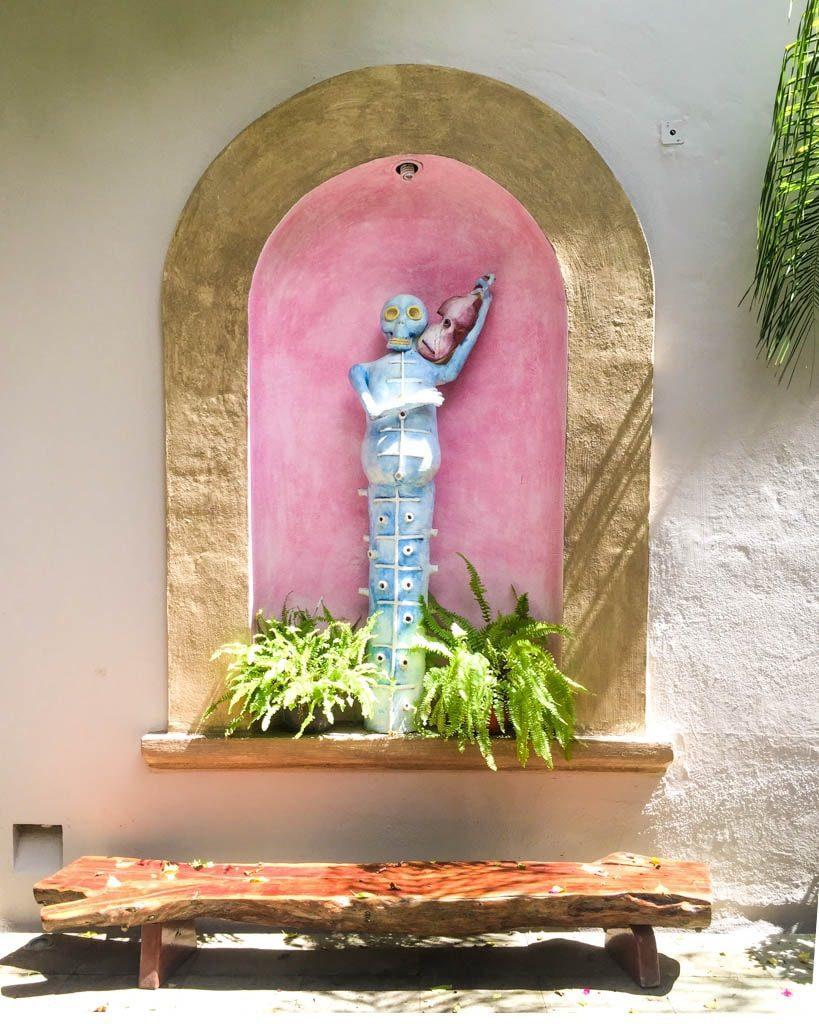 mexican art las bugambilias oaxaca