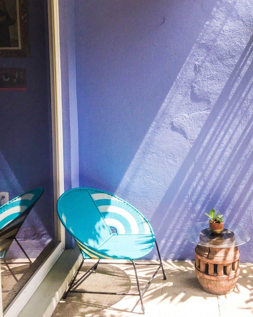 colorful oaxaca B&B