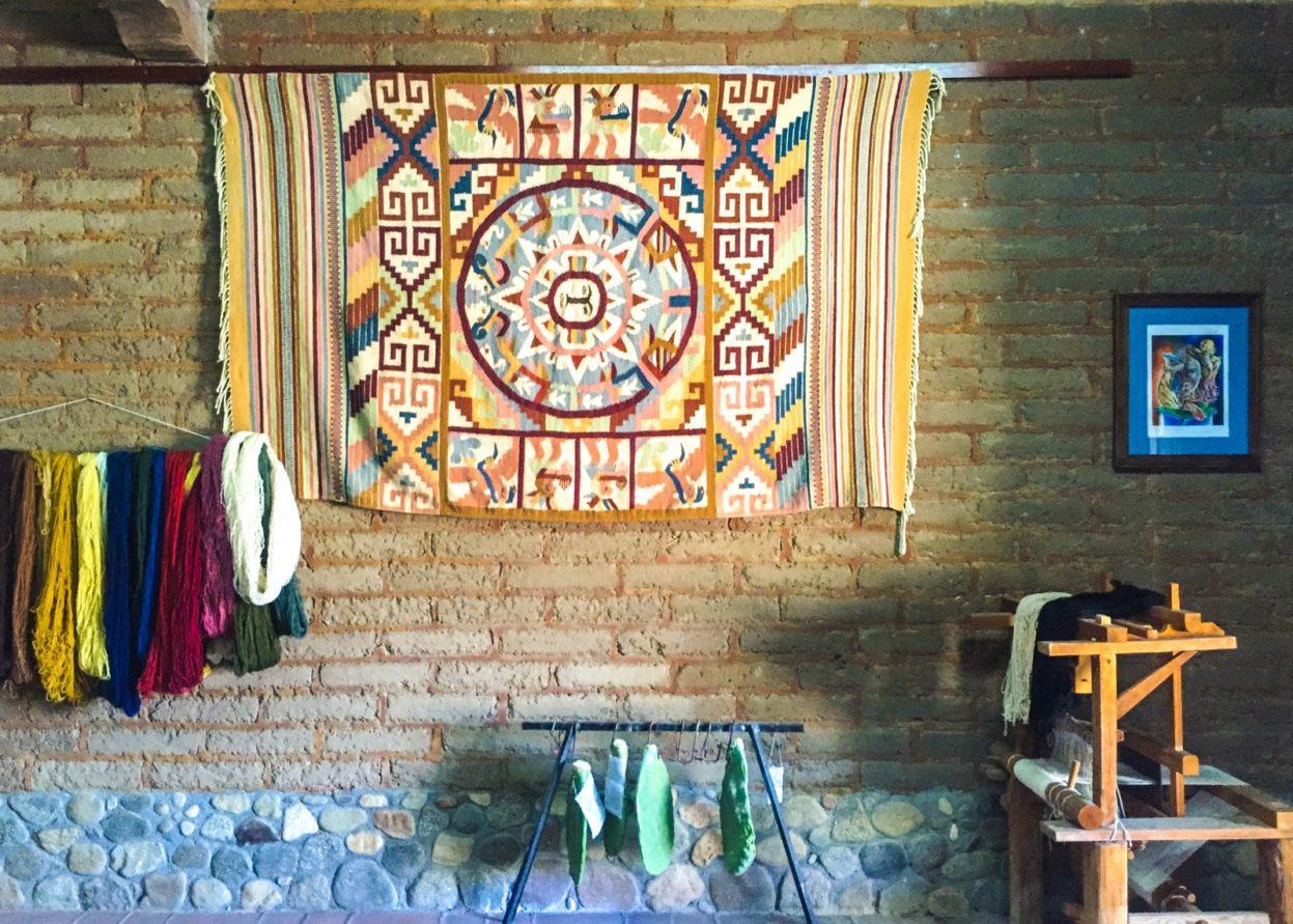 teotitlan del valle oaxacan textiles