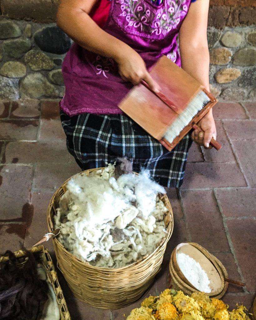 textile tour oaxaca