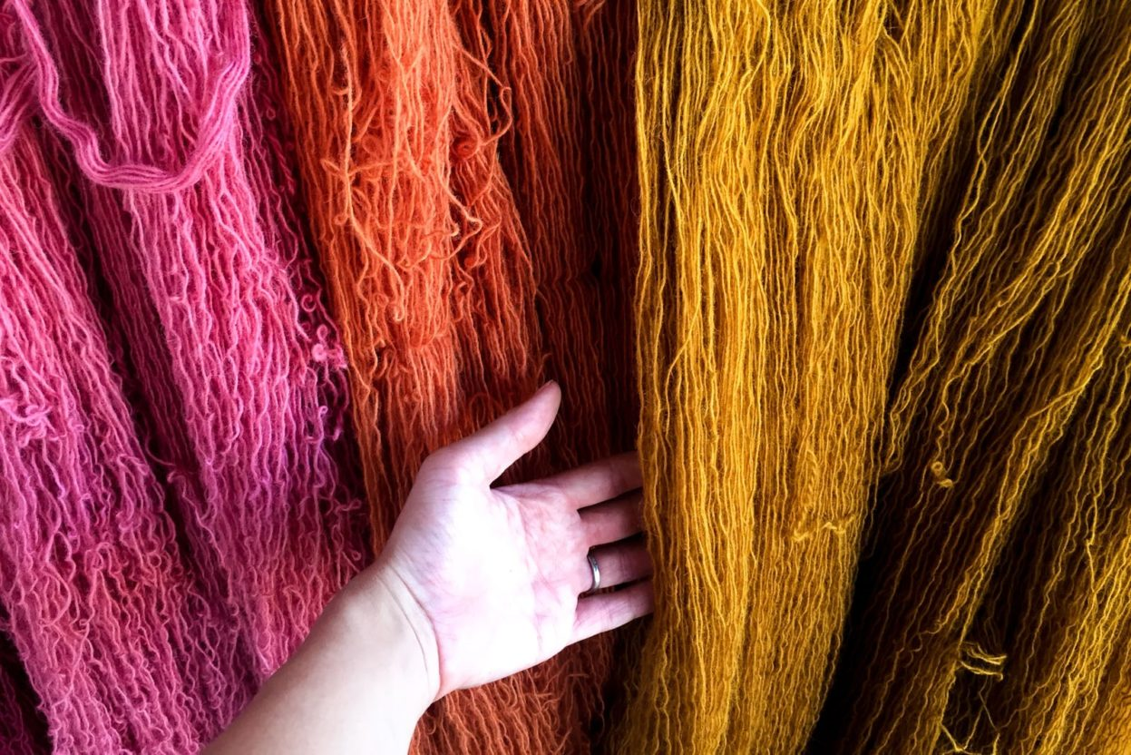 natural dyes in oaxaca