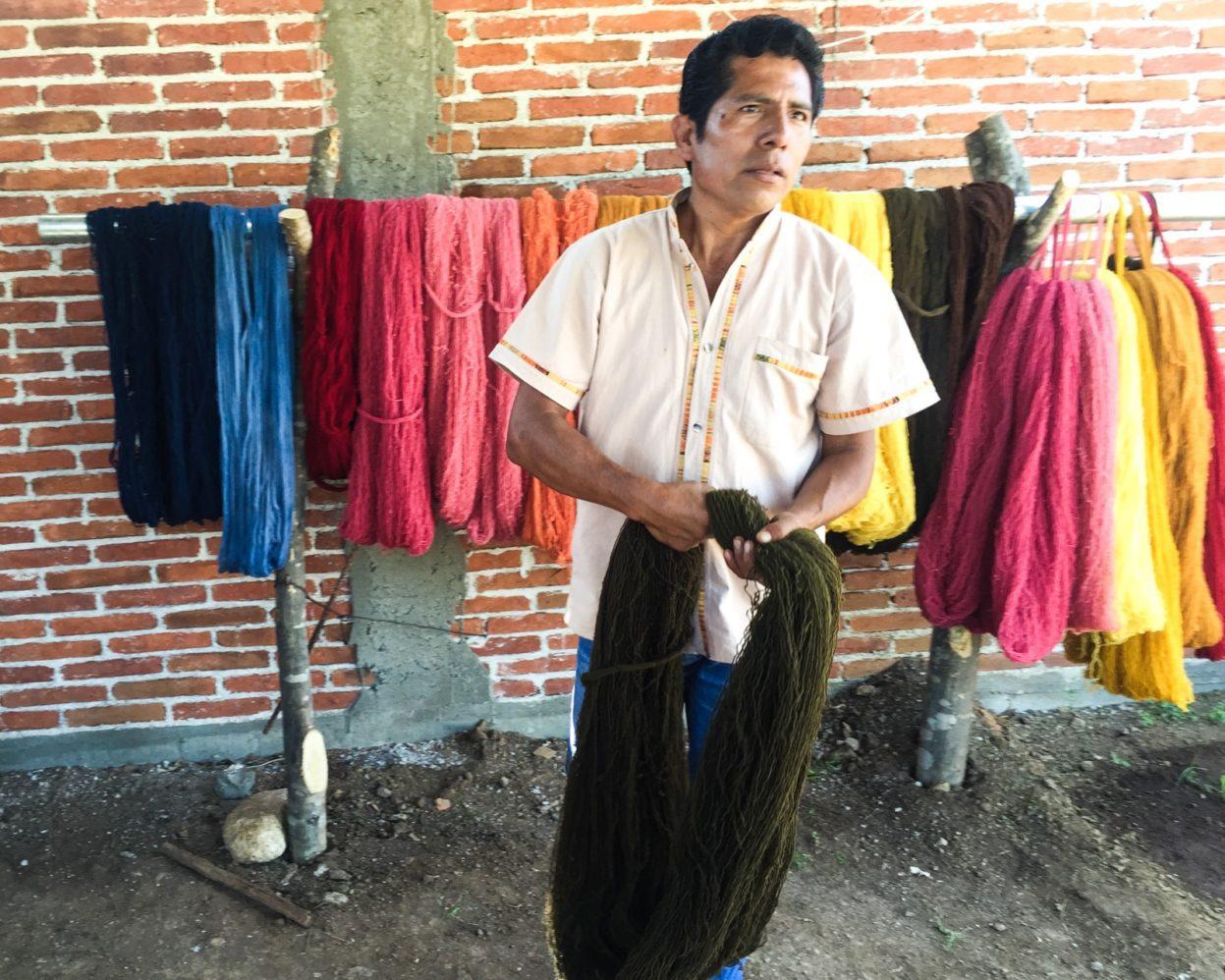 textiles in oaxaca