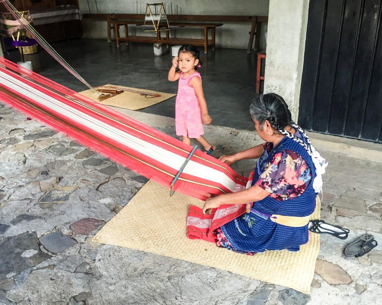 weaving oaxaca