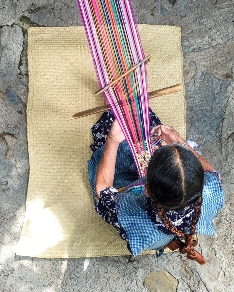 traditional weaving oaxaca