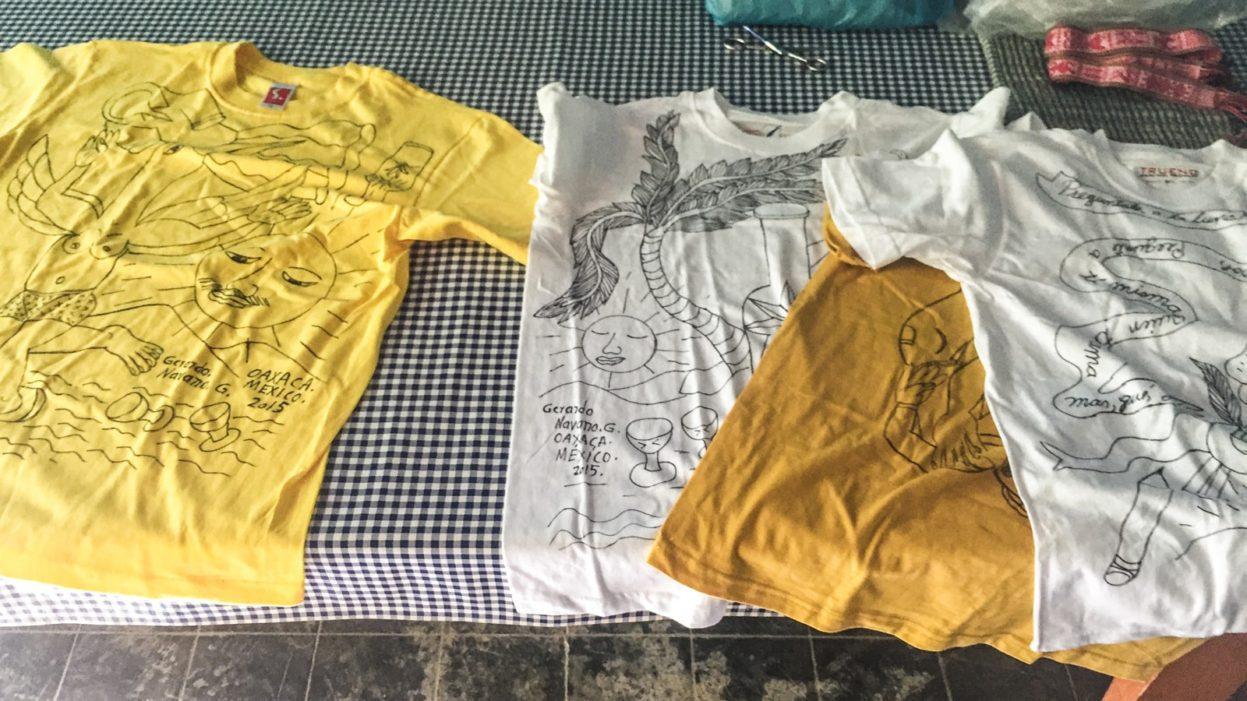 artistic t-shirts in oaxaca