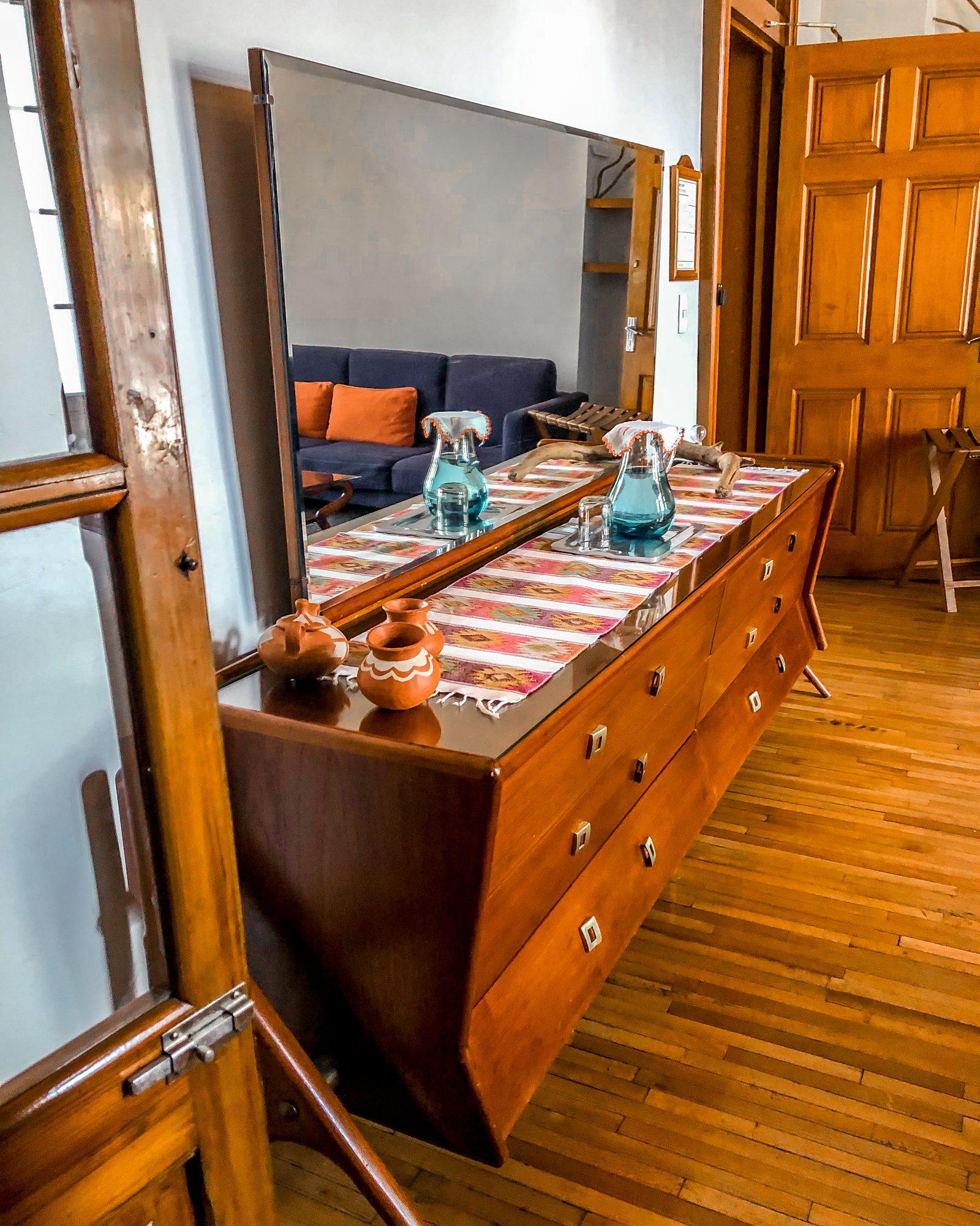 Chiapas suite historic hotel in Mexico City
