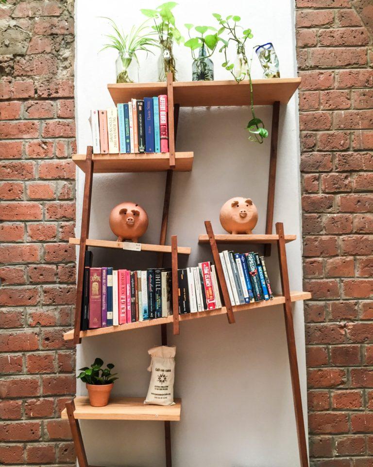 shelf at el patio 77 mexico city