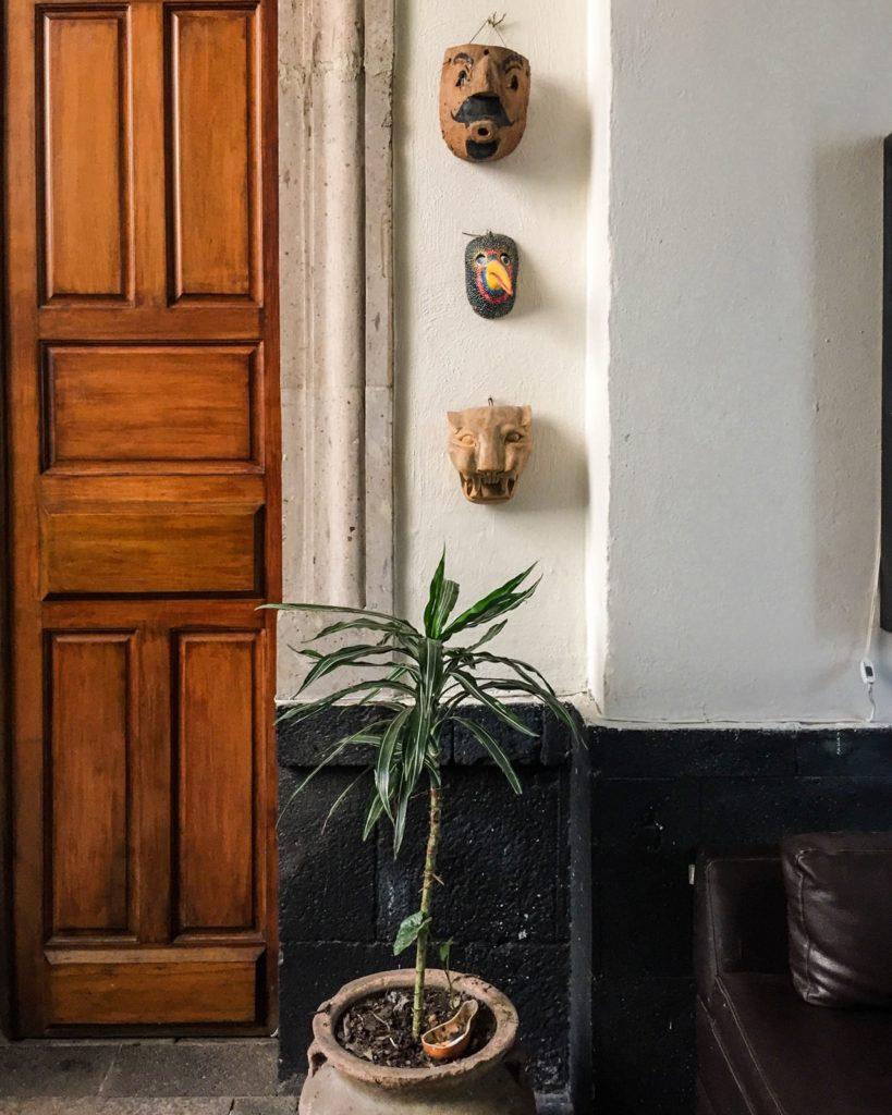doorway el patio 77 mexico city