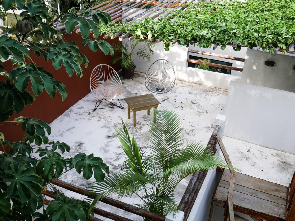 roof terrace tulum huitzical hotel