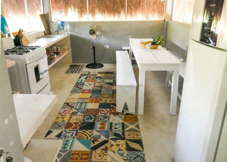 shared kitchen huitzical tulum boutique hotel