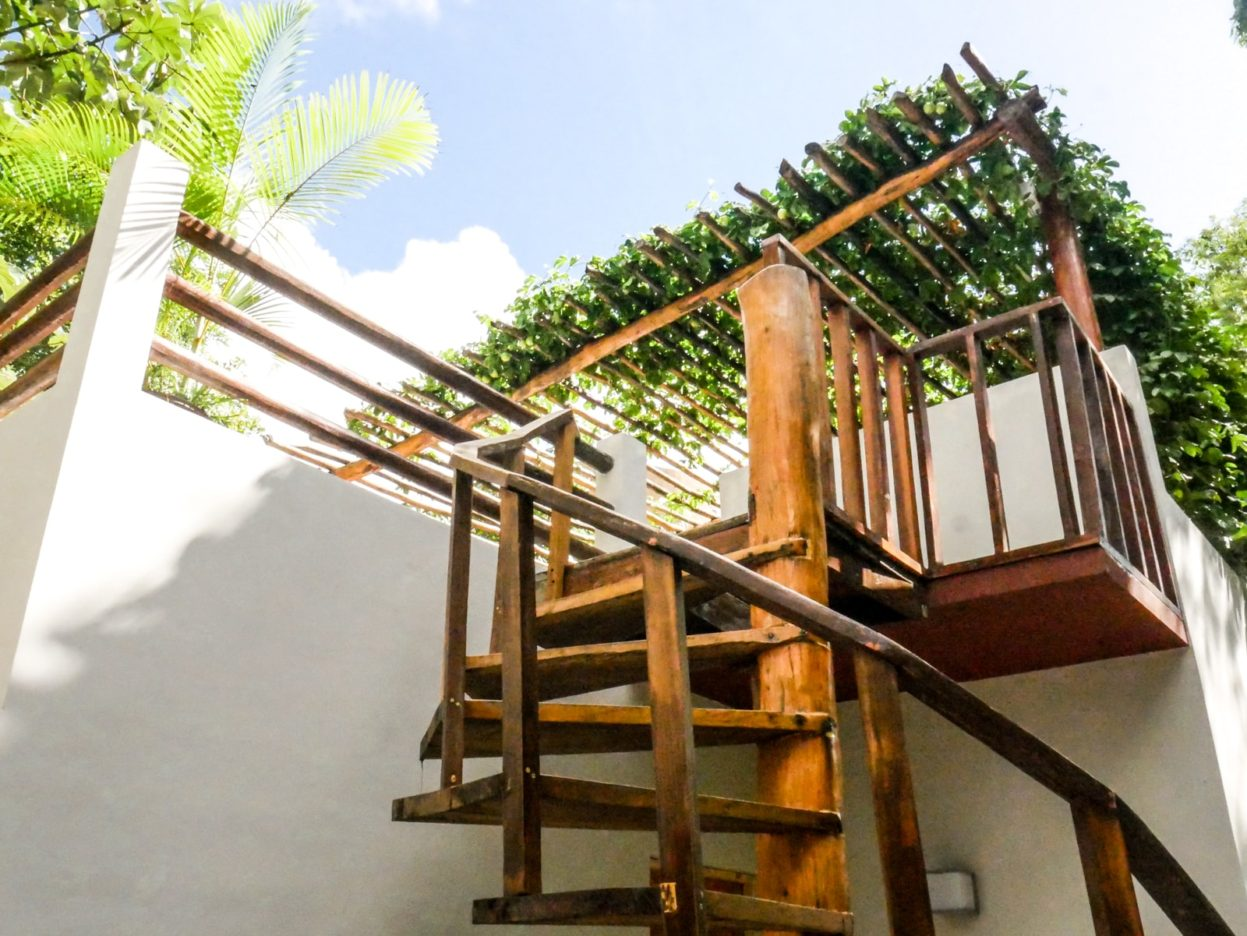 roof view boutique hotel tulum huitzical